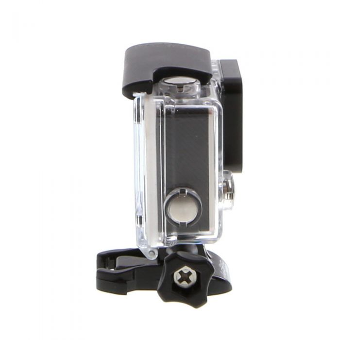 GoPro Hero 4 Silver Edition Digital Action Camera With Standard Housing (Waterproof to 131'), Quick Release Buckle {12 M/P}