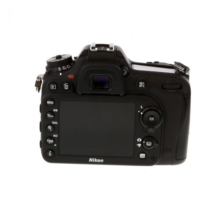Nikon D7200 Digital SLR Camera Body {24.1 M/P}