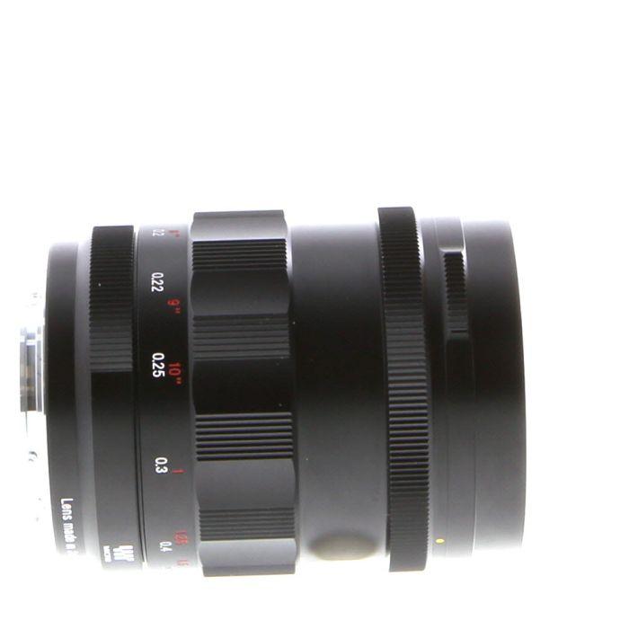 Voigtlander 25mm F/0.95 Nokton Type II Manual Focus Lens For Micro Four Thirds System {52}
