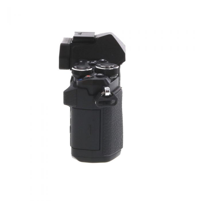 Olympus OM-D E-M5 Mark II Mirrorless Micro Four Thirds Digital Camera Body, Black {16.1MP} with FL-LM3 Flash