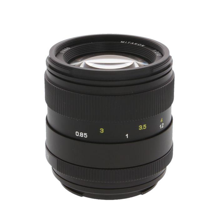 Mitakon Zhongyi Creator 85 f/2 Manual Lens for Canon EF-Mount {55}