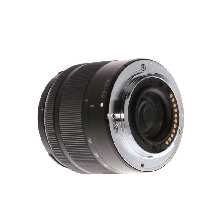 Panasonic Lumix 35-100mm f/4-5.6 G Vario Asph. Mega O.I.S. AF Lens for Micro Four Thirds System, Black {46}