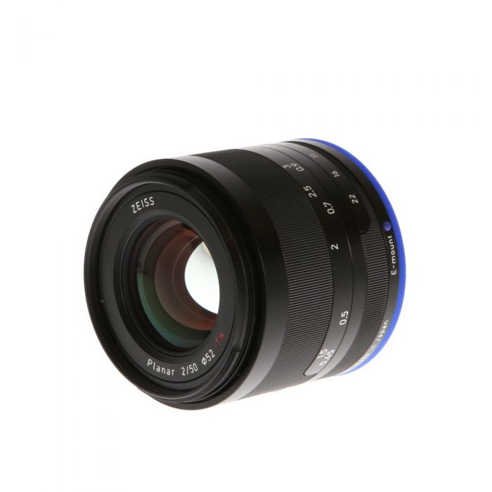 Zeiss Loxia 50mm f/2 Planar T* Manual Focus Lens for Sony FE Mount {52} with De-Click Tool