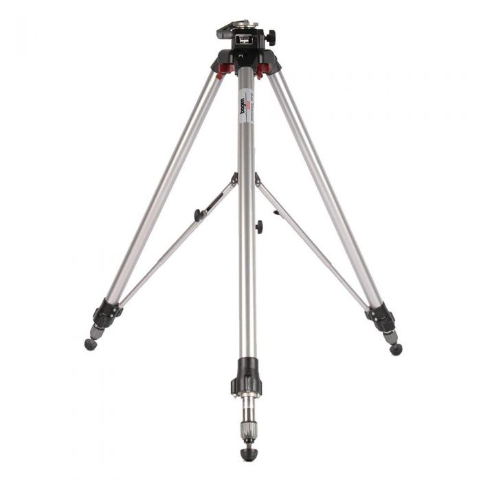 Bogen/Manfrotto 3051 Tripod Legs with Geared Center Column, Chrome 38-63
