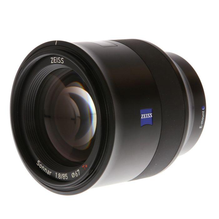 Zeiss Batis 85mm f/1.8 Sonnar T* Autofocus Lens for Sony E Mount {67}
