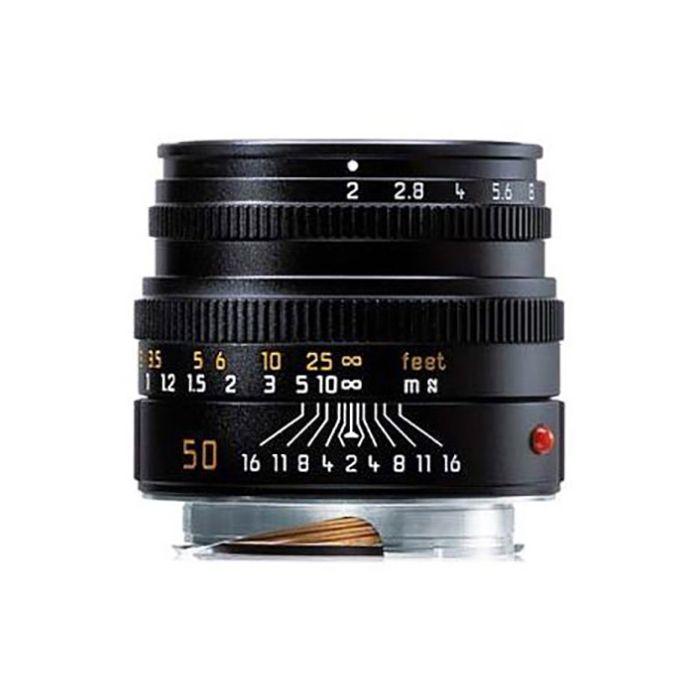 Leica 50mm f/2 APO-Summicron-M ASPH. M-Mount Lens, Black, 6-Bit {E39} 11141