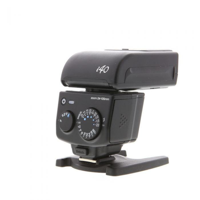 Nissin I40 Compact Flash For Fujifilm TTL [GN131] {Bounce, Swivel, Zoom}