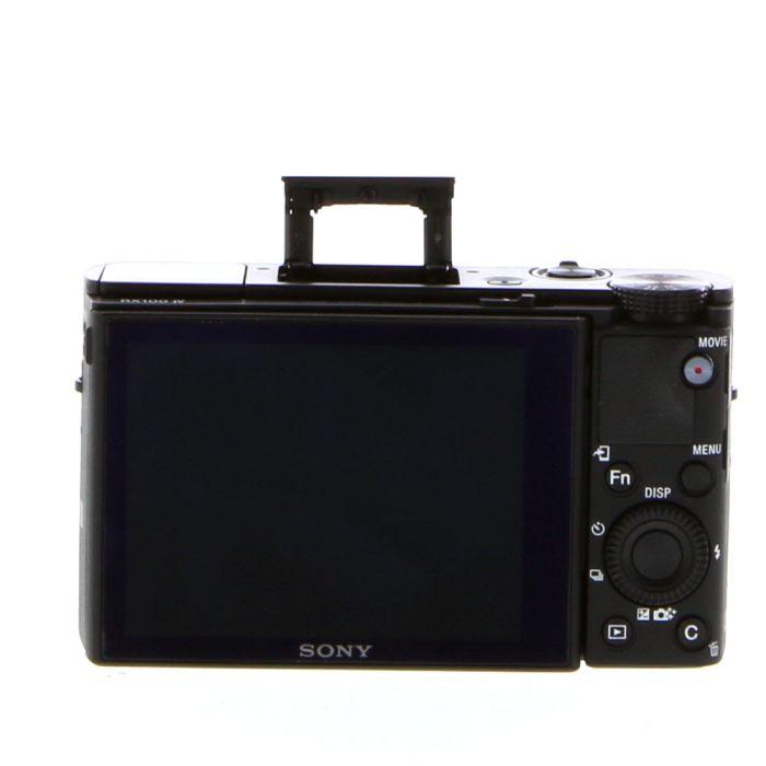 Sony Cyber-Shot DSC-RX100 IV Digital Camera, Black {20MP}