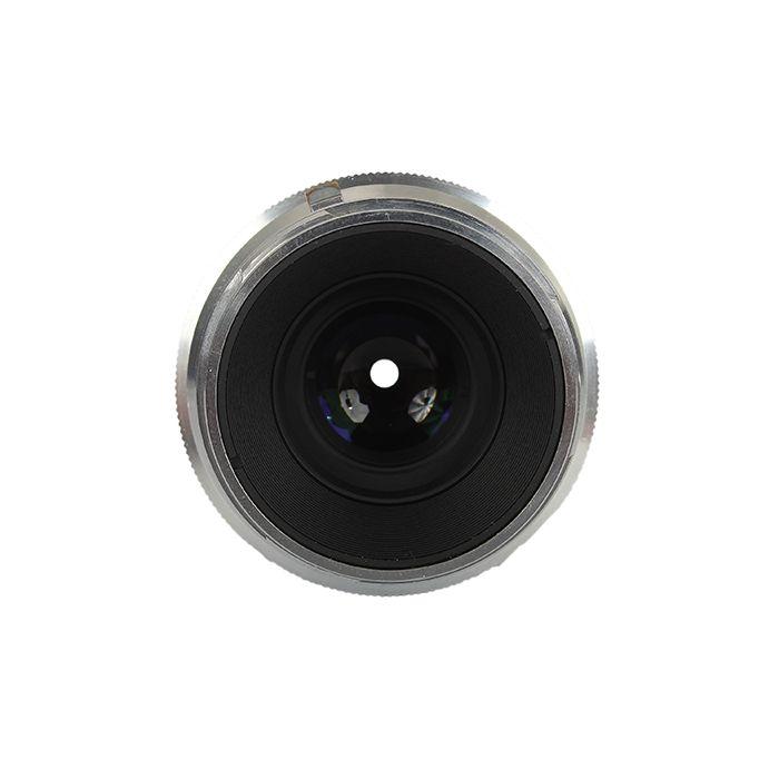 Voigtlander 50mm f/3.5 Heliar Lens for Nikon Rangefinder Camera, Black/Chrome {26}