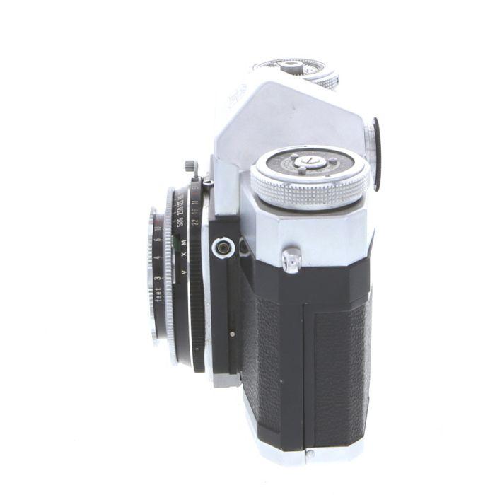 Zeiss Ikon Contaflex I Camera (861/24) with 45mm F/2.8 Tessar (1st Version)