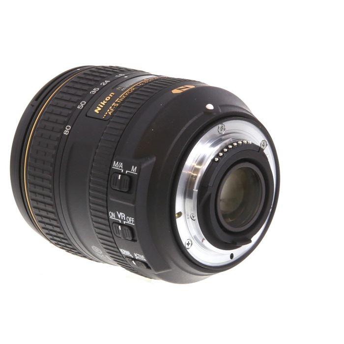 Nikon AF-S DX Nikkor 16-80mm f/2.8-4 E ED IF VR Autofocus Lens for APS-C Sensor DSLR, Black {72}