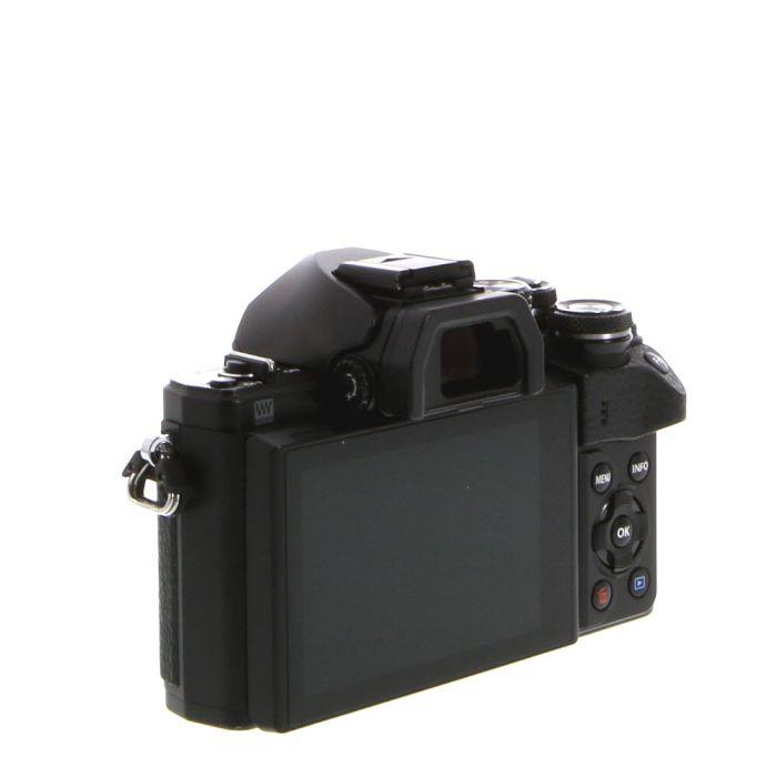 Olympus OM-D E-M10 Mark II Mirrorless Micro Four Thirds Digital Camera Body, Black {16.1MP}