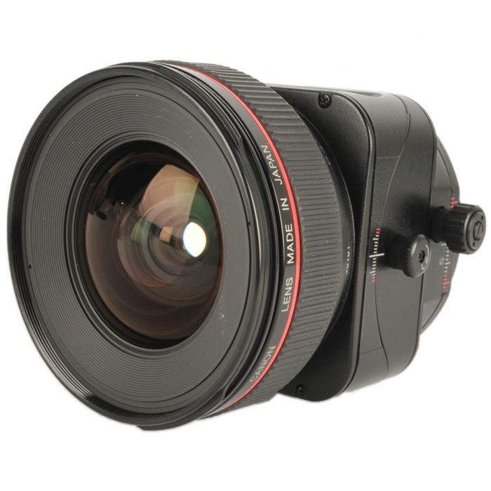 Canon 24mm f/3.5 L TS-E Tilt Shift Manual Focus EF-Mount Lens {72} Modified to have Tilt-Shift on Same Axis