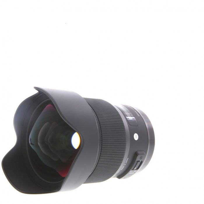 Sigma 20mm F/1.4 DG (HSM) A (Art) Autofocus Lens For Canon EF Mount