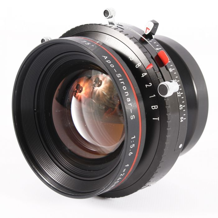 Rodenstock 240mm F/5.6 APO Sironar-S BT Copal 3 (65MT) 8x10 Lens