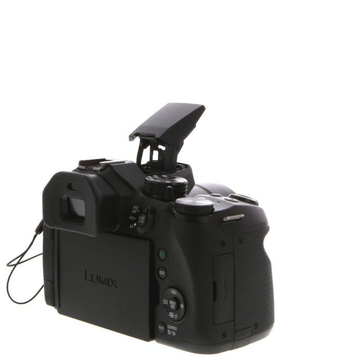 Panasonic Lumix DMC-FZ300 Digital Camera, Black {12.1 M/P}