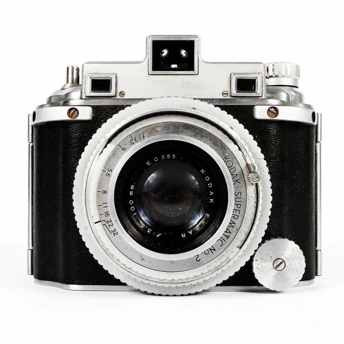 Kodak Medalist With Chrome Focus Ring