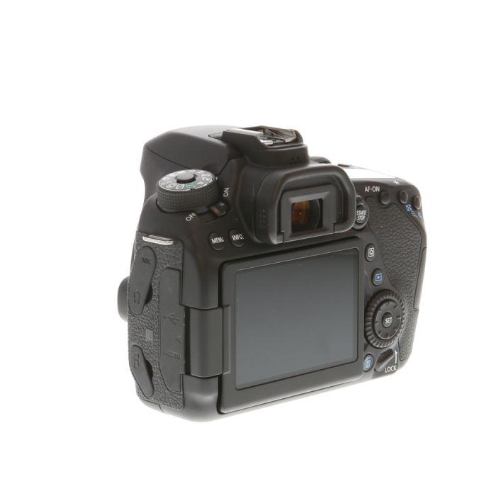 Canon EOS 80D (W) Digital SLR Camera Body {24.2 M/P}
