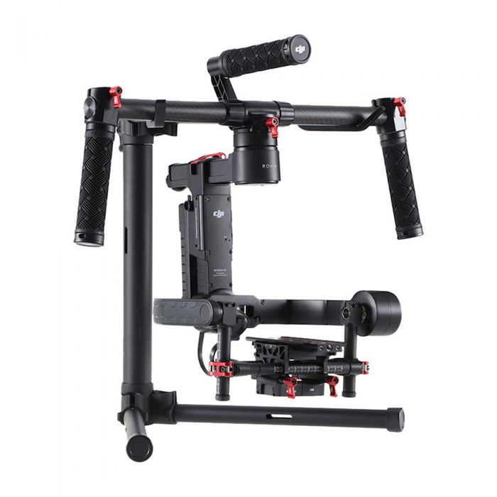 DJI Ronin-M Handheld 3-Axis Gimbal Stabilizer with Handlebar, Remote Controller, Tuning Stand (Requires Batteries)