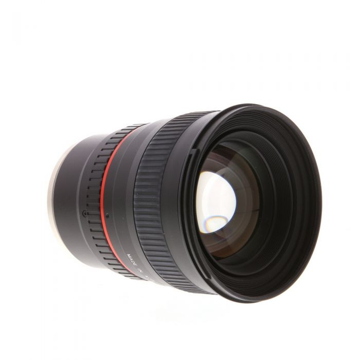 Rokinon 50mm f/1.4 AS IF UMC Manual Lens for Canon EF-Mount {77}