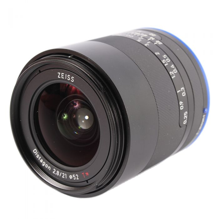 Zeiss Loxia 21mm f/2.8 T* Distagon Manual Focus Lens for Sony FE Mount {52} with De-Click Tool