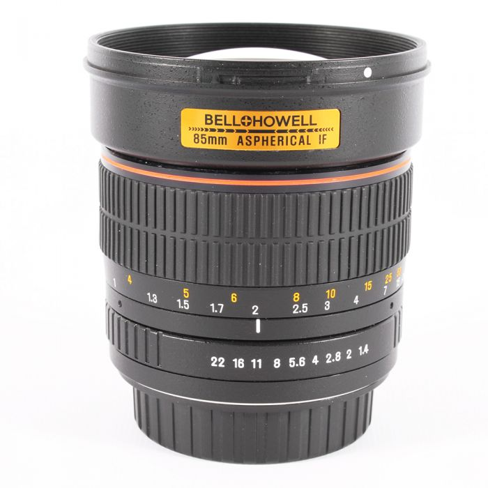 Bell & Howell 85mm f/1.4 Aspherical IF Manual Lens for Canon EF-Mount {72}