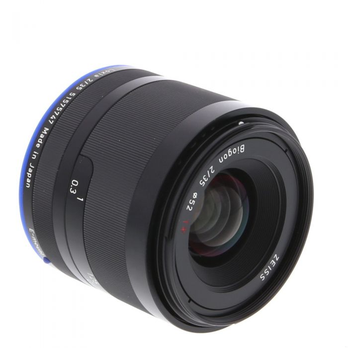 Zeiss Loxia 35mm f/2 Biogon T* Manual Focus Lens for Sony FE Mount {52} without De-Click Tool
