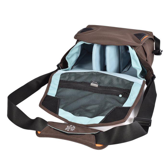 Crumpler 7 Million Dollar Home Camera Bag, Brown, 13.6x11x8.3 in.