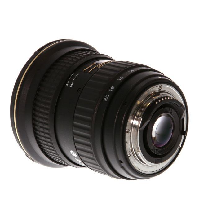 Tokina AT-X Pro 11-20mm f/2.8 IF DX Lens for Nikon F-Mount APS-C DSLR {82}