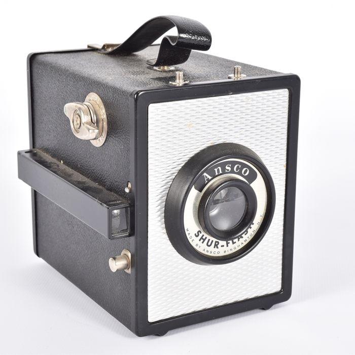 Ansco Shur-Flash Box Camera without Flash