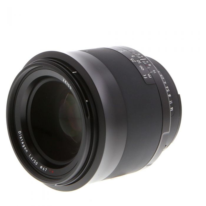 Zeiss Milvus 50mm f/1.4 T* Distagon ZF.2 Manual Focus Lens (With CPU Contacts) for Nikon F-Mount {67} with De-Click Tool