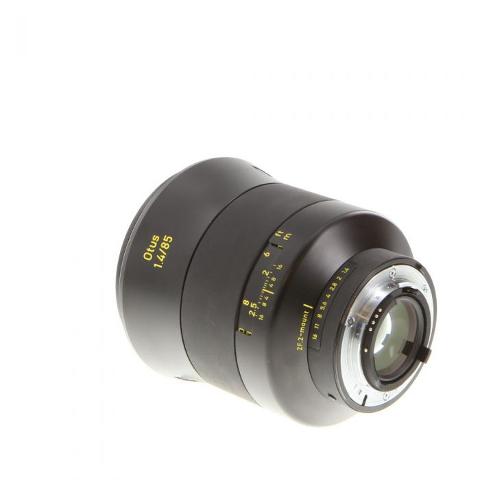 Zeiss Otus 85mm F/1.4 APO Planar ZF.2 T* (With CPU Contacts) Black Lens For Nikon {86}
