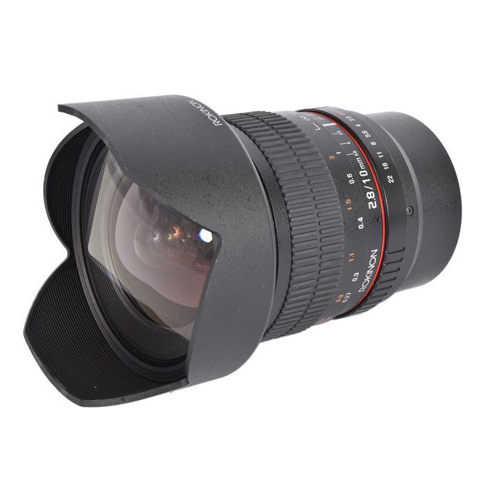 Rokinon 10mm f/2.8 ED AS NCS CS Manual Focus Lens for MFT Micro Four Thirds