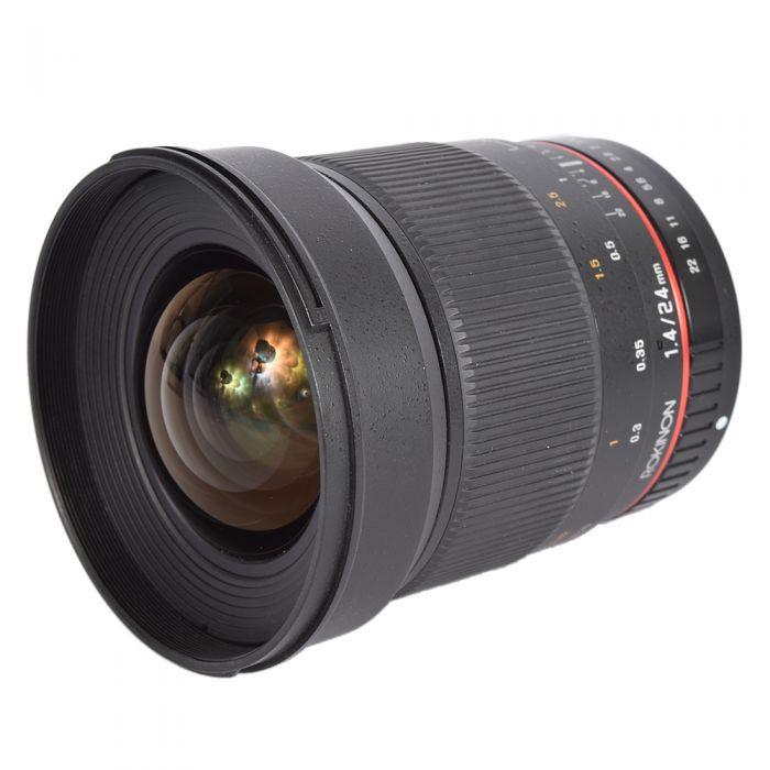 Rokinon 24mm f/1.4 ED AS IF UMC manual lens for Sony A-Mount [77]