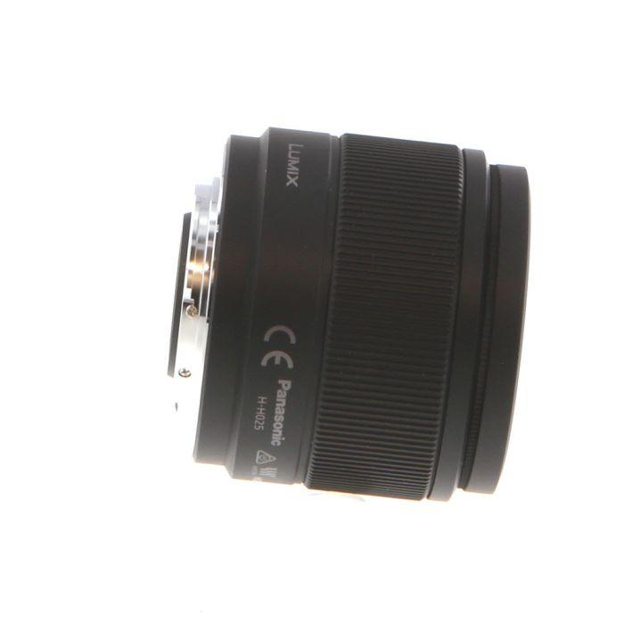 Panasonic Lumix G 25mm f/1.7 ASPH Autofocus Lens for MFT Micro Four Thirds, Black {46} with Decoration Ring