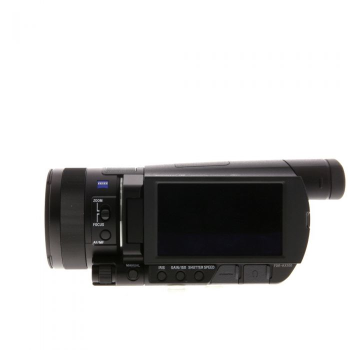 Sony FDR-AX100 4K Ultra HD Digital Video Camcorder, Black