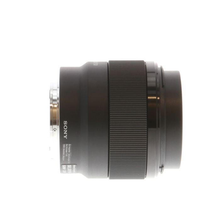 Sony FE 50mm F/1.8 E Mount Autofocus Lens, Black (SEL50F18F) {49}