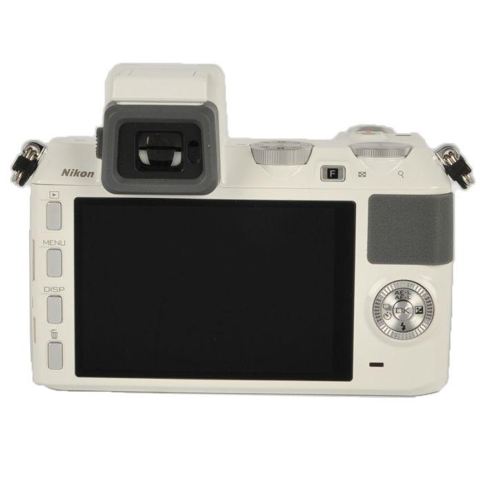 Nikon 1 V2 Mirrorless Digital Camera Body, White {14.2 M/P}