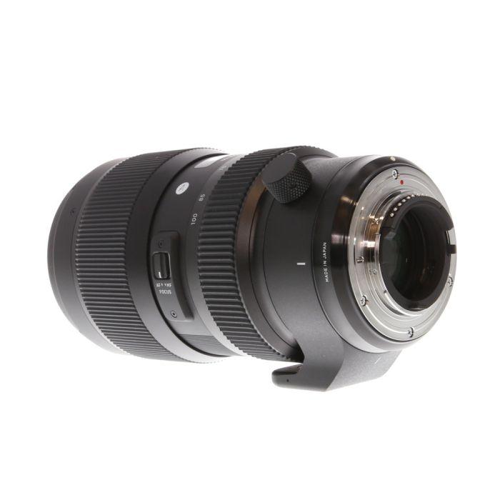 Sigma 50-100mm f/1.8 DC HSM (Art) AF Lens for Nikon APS-C DSLR {82}