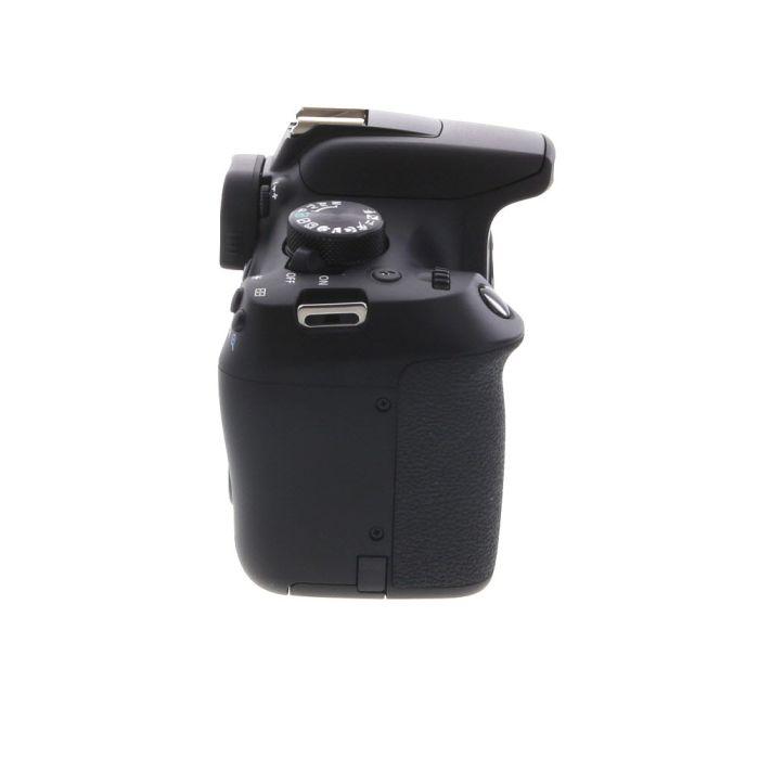 Canon EOS Rebel T6 DSLR Camera Body, Black {18MP}