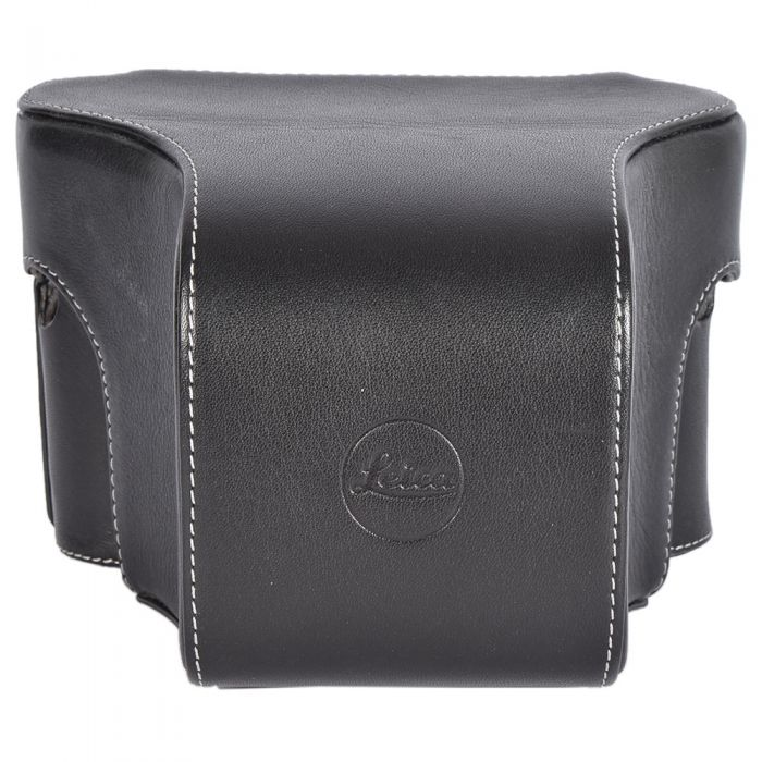 Leica Ever-Ready Leather Case for M/M-P with Short Front, Black, 14888