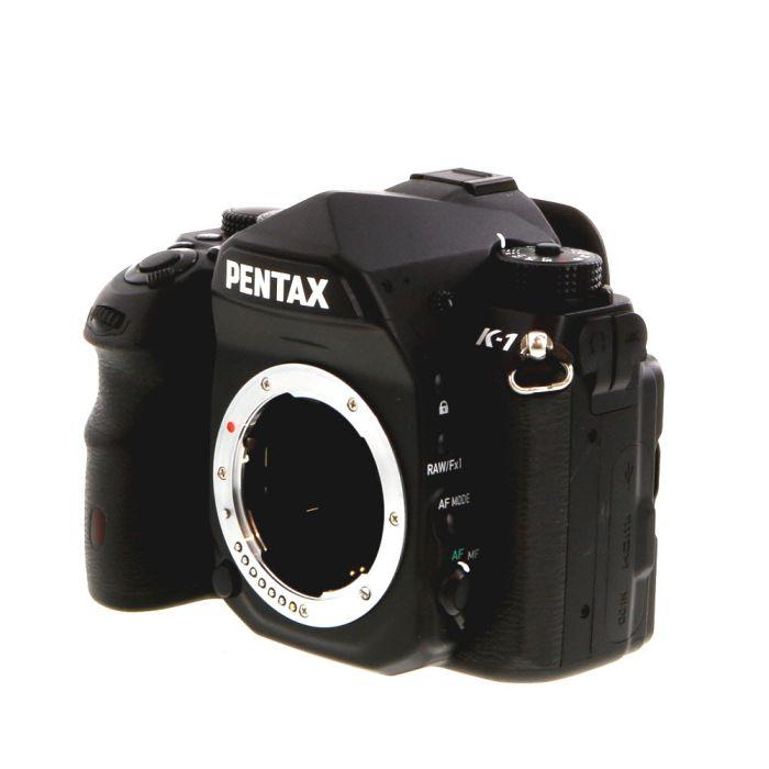 Pentax K-1 Digital SLR Camera Body, Black {36.4MP}