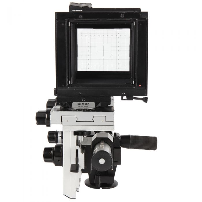 Sinar 4x5 P with P2 Front and Rear Standards View Camera Body