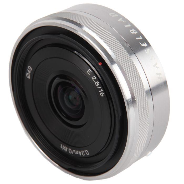 Hasselblad 16mm F/2.8 E Autofocus Lens for Sony E Mount  LF16, Silver {49}