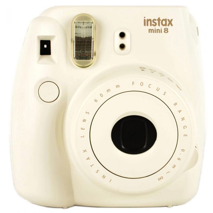 Fujifilm Instax Mini 8 Instant Print Camera, White