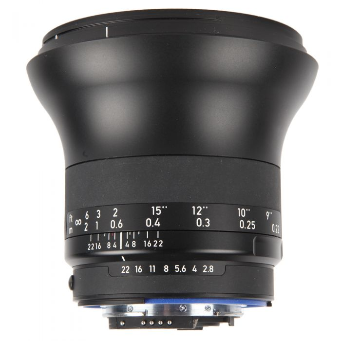 Zeiss Milvus 21mm f/2.8 Distagon ZF.2 T* (With CPU Contacts) Manual Focus Lens for Nikon F-Mount {82} with De-Click Tool