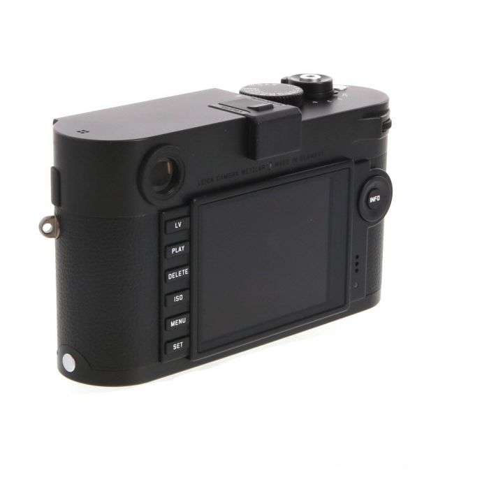 Leica M Monochrom (Typ 246) Digital Camera Body. Black/Chrome {24 M/P}