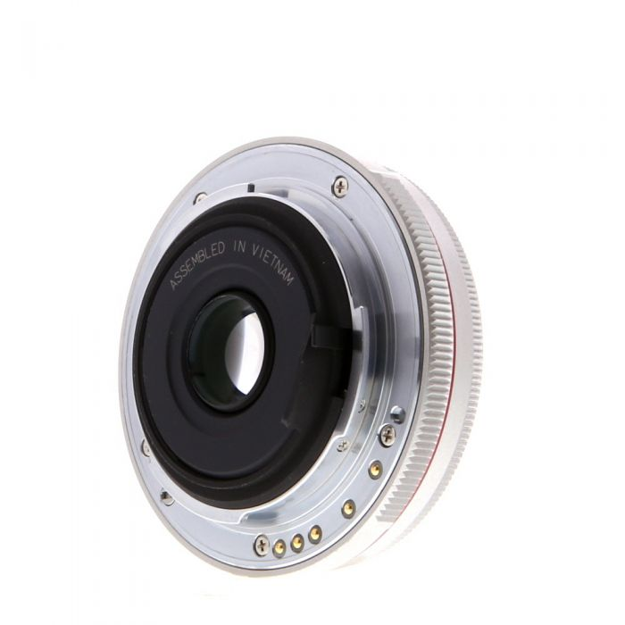 Pentax 40mm F/2.8 HD DA Limited Silver K Mount Autofocus Lens For APS-C Sensor DSLRS {49}