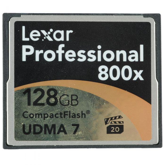 Lexar Pro 128GB 800X UDMA 7 Compact Flash [CF] Memory Card
