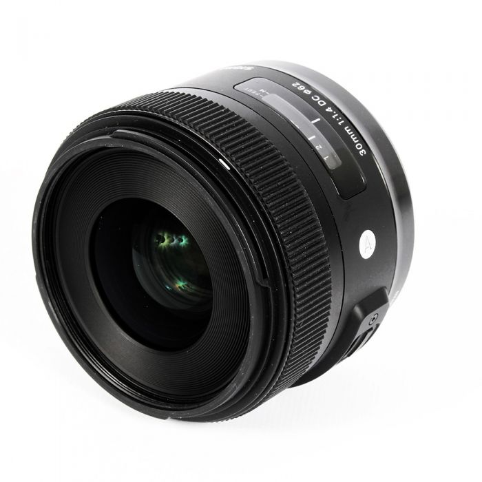 Sigma 30mm f/1.4 DC A (Art) Lens, Dedicated Only for Sigma SA Mount (please note: not Sony Alpha Mount){62}